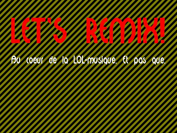Logo Let&#039;s Remix 600x450